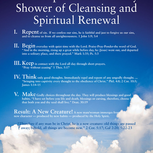 Guide For Daily Shower Of Cleansing