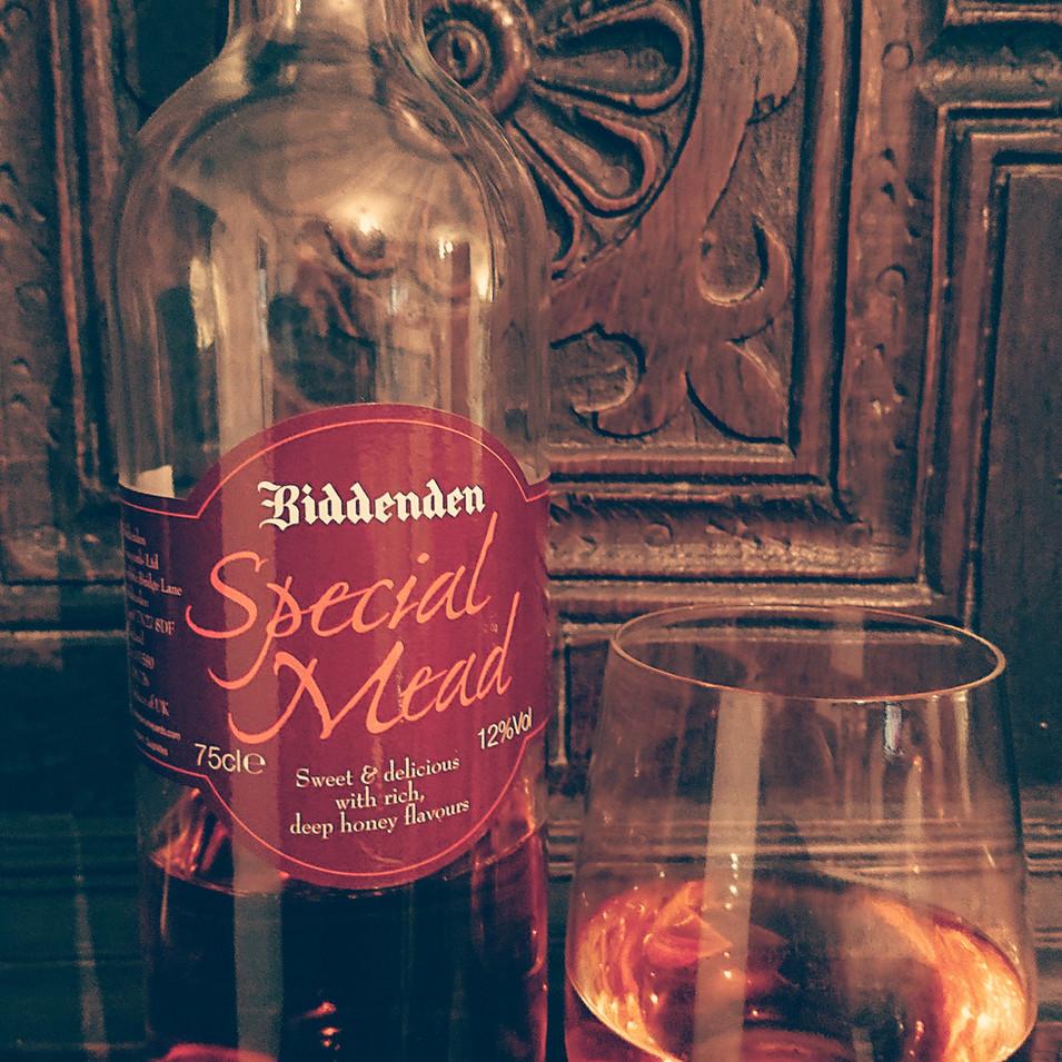 The Ringlestone Inn Biddenden Vineyards Special mead