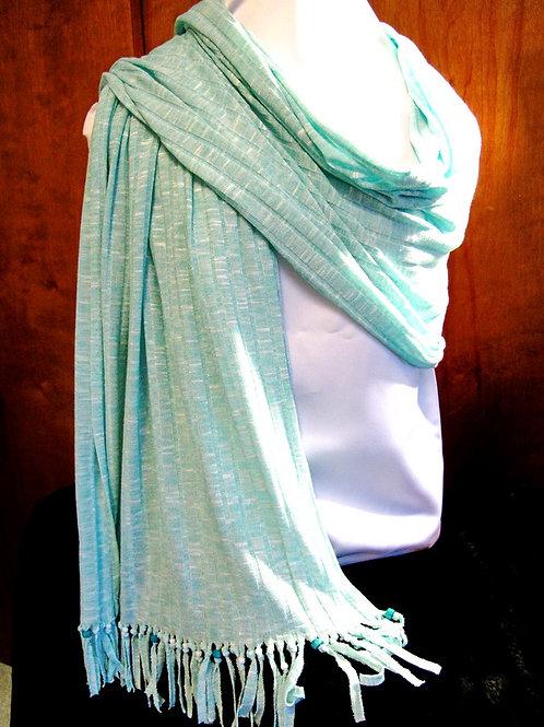 Mint Knit Shawl