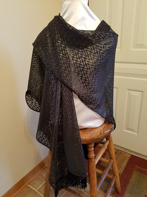 Sparkly Lace Shawl