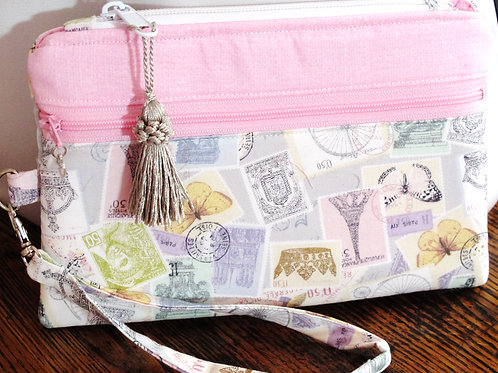 To Paris! Wristlet