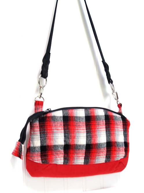 Vintage Wool Shoulder Bag