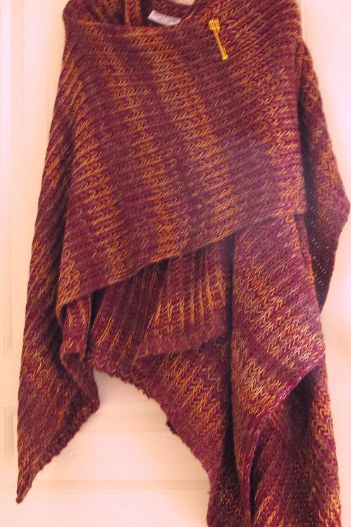 Purple Sweater Wrap