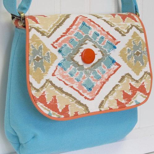 Southwest Print Shoulder Bag