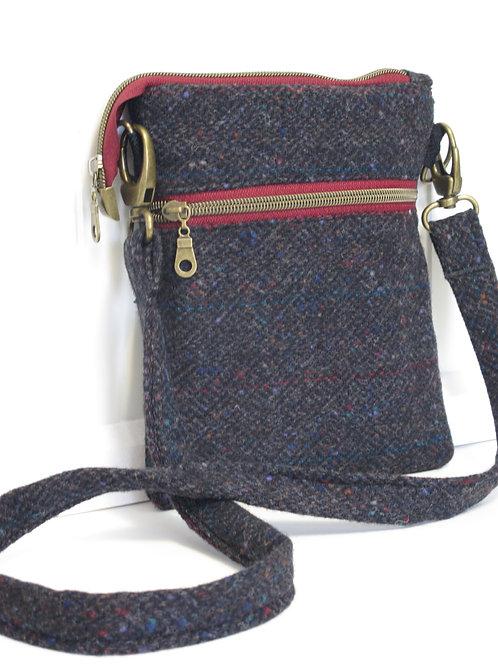 Wool Tweed Crossbody Bag