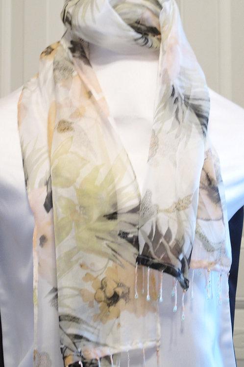 Silk Watercolor Scarf