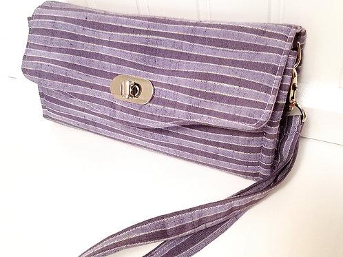 Lavender Stripes Wallet