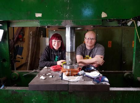 Kiwa Inspecta tuo Hydraulic Press Channelin Finnbuildin Betonipuistoon