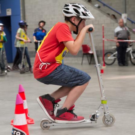 Sicher unterwegs mit dem Scooter (1./2. Kindergarten)