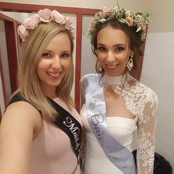 Printed Bridal sash