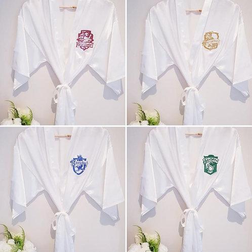 Harry Potter House Inspired Satin Robe