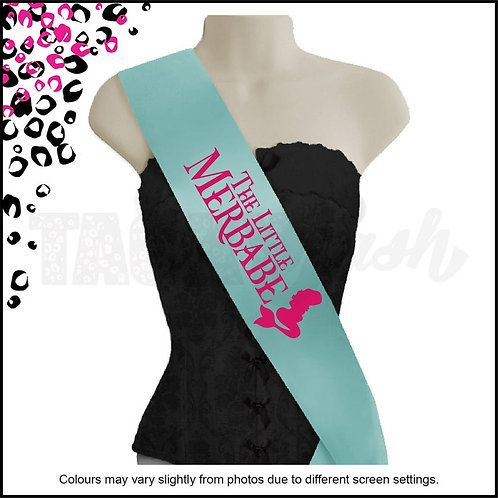 """The Little Merbabe"" Maternity Printed Sash"