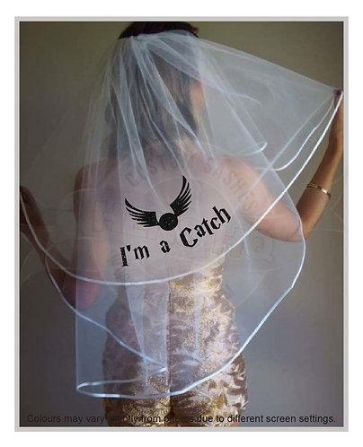 harry potter bride veil