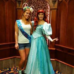 Disney Inspired Glitter Sash