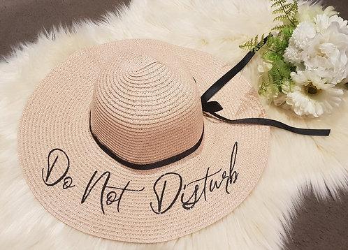 Do No Disturb Beach Hat