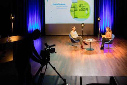 Talkshow BOUWSTOF (CAST) met Thalia Verkade - Juli 2020