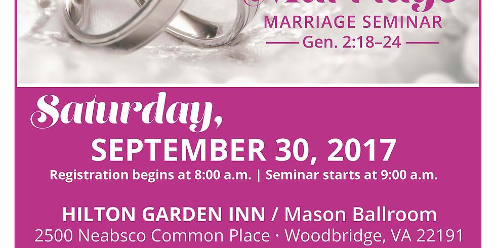 Godly Marriage Seminar