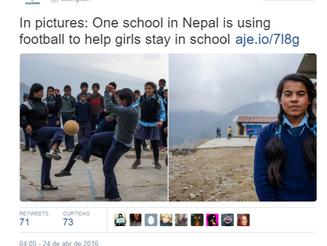 Estudantes nepalesas usam o futebol para evitar cair na indústria do tráfico sexual