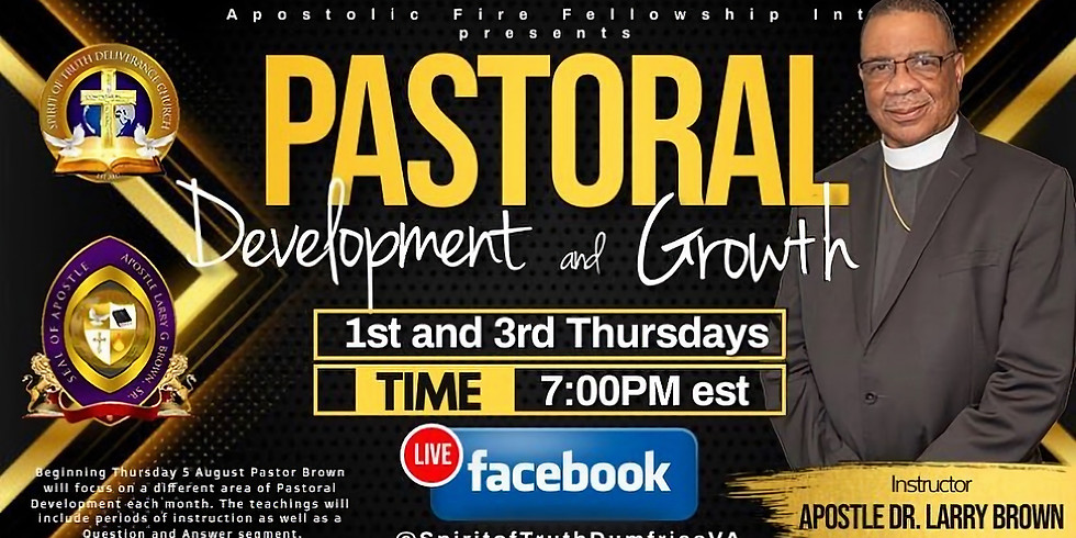 Pastoral Development & Growth