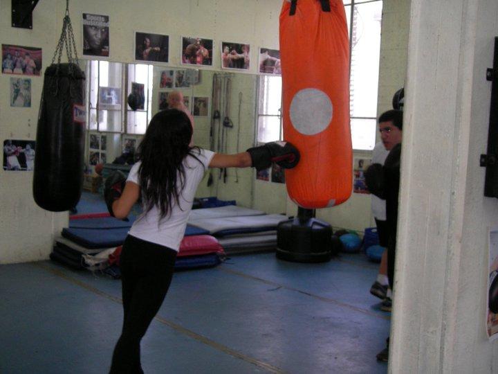 קבוצת אלמוג באימון אגרוף של מועדון (5)
