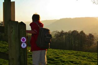 Walking in East Devon AONB Countryside