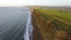 West Bay Cliffs Bridport