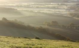 Morning Mist – Corfe Hill