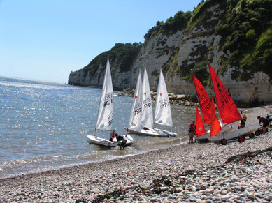 Boating in East Devon Coast