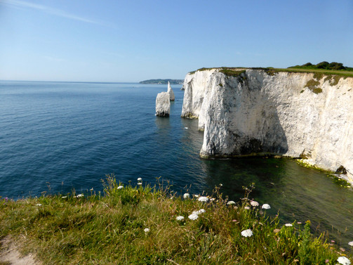 South from Old Harry, Old Harry Rock, Studland