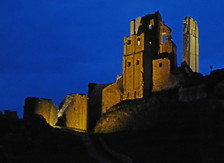 Illuminated Castle, Corfe Castle