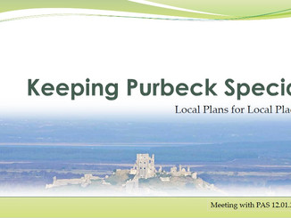 Revising the Purbeck SHMA - meeting with the Planning Advisory Service