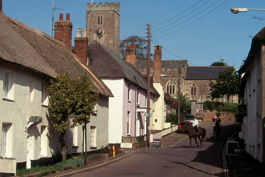 The Village of East Budleigh