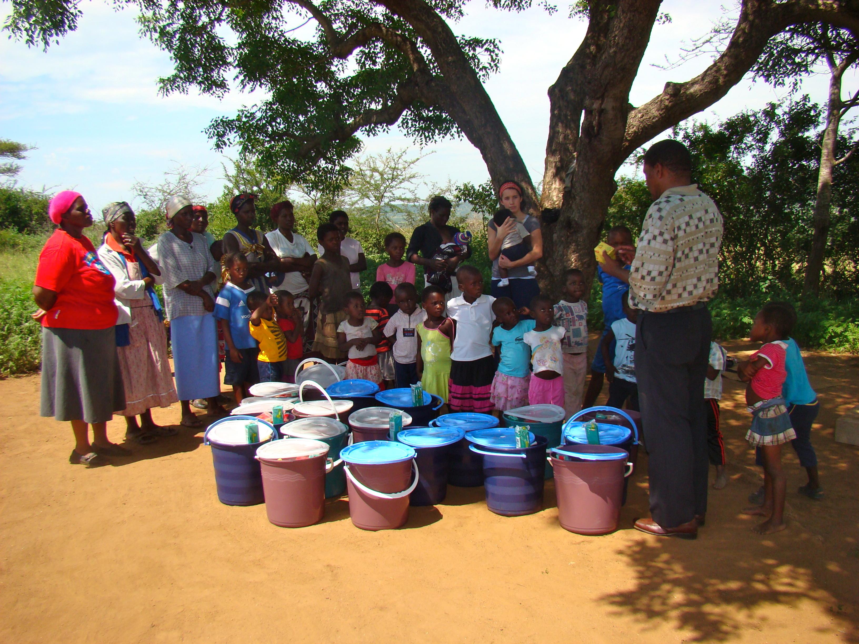 Christmas food/supply distribution