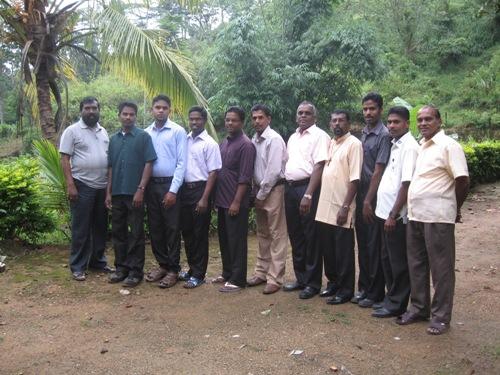 From left Masi, Bro.Annadorai, Bro.Nadakumar, Bro.Maheshwaran, Pas.Premkumar, Pa