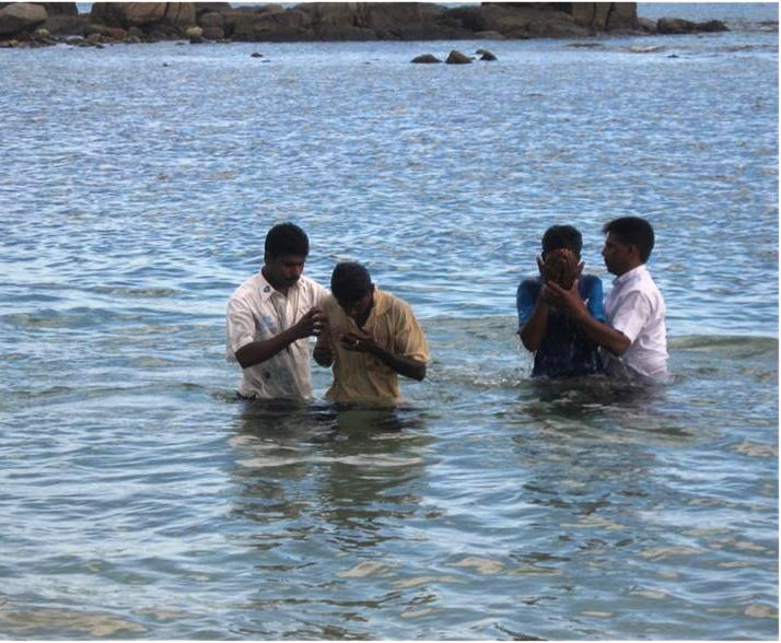 Baptism of new believers
