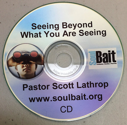 "CD - ""Seeing Beyond What You are Seeing"""