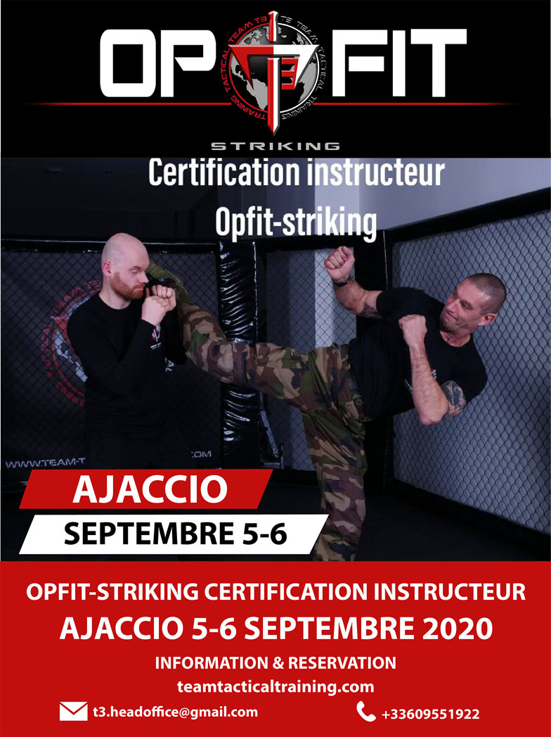 Evenement de certification d'instructeur OPFIT