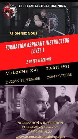 Aspirant Instructeur Formation Sept-Oct2