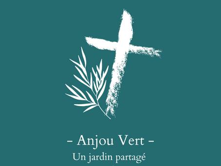 Anjou Vert: Un jardin partagé au presbytère.