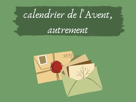 Catho & écolo: un calendrier de l'Avent, autrement !