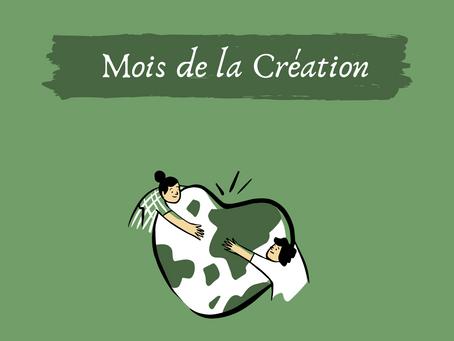 Catho & écolo: le mois de la Création.