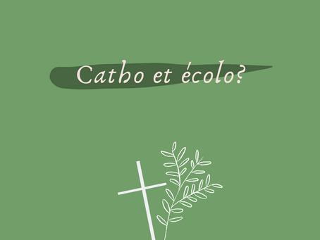 Catho & écolo: mise en lien.