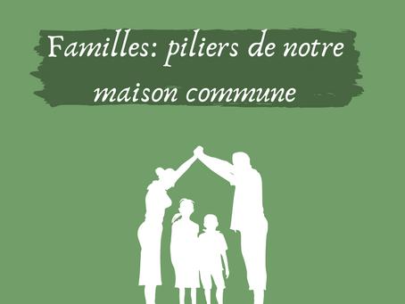 Catho & écolo : Familles, piliers de notre maison commune.