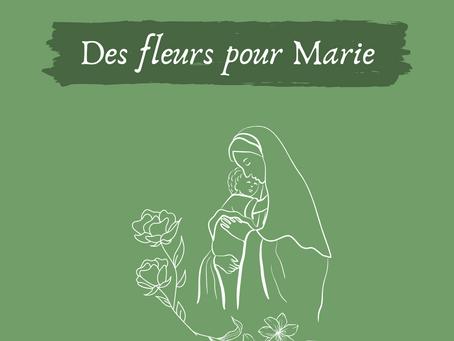 Catho & écolo: Des fleurs pour Marie.