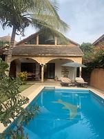 A vendre Saly bord de mer villa 3 chambres avec piscine