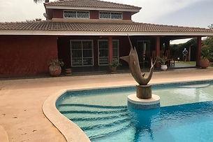 A vendre villa 4 chambres avec piscine en résidence à Saly