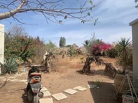 A vendre terrain clôturé en deuxième ligne mer Ngaparou