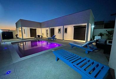 Location à l'année villa neuve 2 chambres avec piscine à Somone Lagune