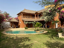 Villa 4 chambres avec piscine à vendre à Ngaparou bord de mer