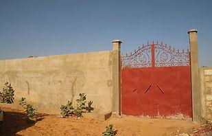 Terrain clôturé à vendre à Ngaparou